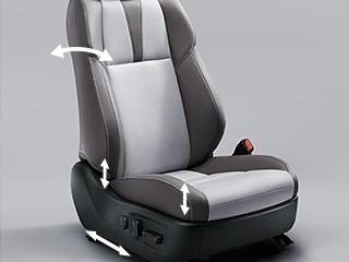 """トヨタ・ハリアー特別仕様車 """"Style ASH"""" 運転席8ウェイ&助手席4ウェイパワーシート"""