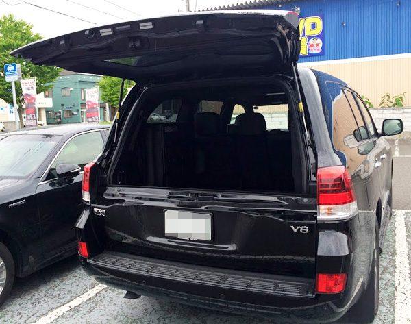 トヨタ・ランドクルーザー200 ZX バックドア