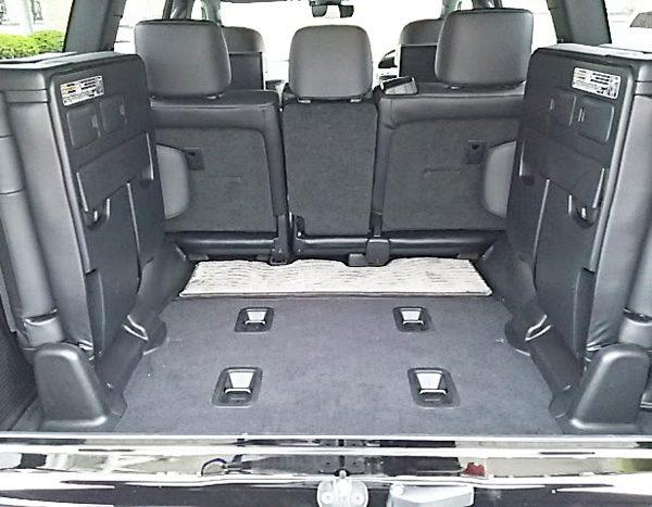 トヨタ・ランドクルーザー200 ZX ラゲッジスペース