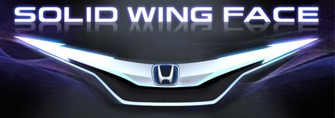 Hondaデザインアイデンティティー 「ソリッドウイングフェイス」