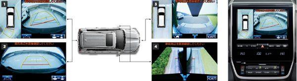 トヨタ・ランドクルーザー200 マルチテレインモニター画像