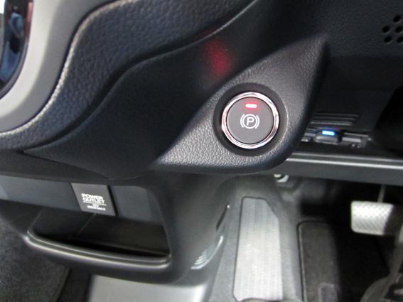 ホンダ・N-BOXスラッシュ G・Lパッケージ 電子制御パーキングブレーキボタン