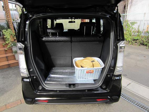 ホンダ・N-BOXスラッシュ G・Lパッケージ 荷室スペース