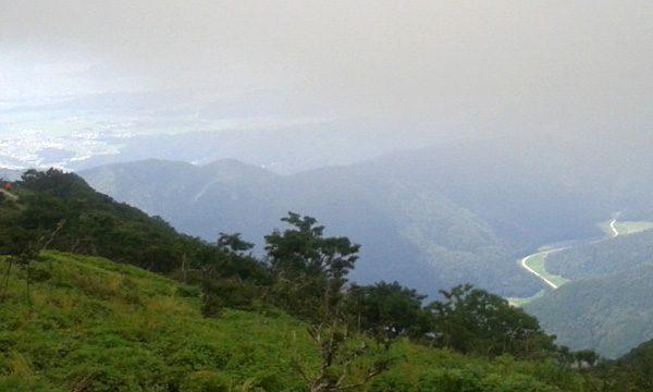 伊吹山ドライブウエイ 山頂からの景色