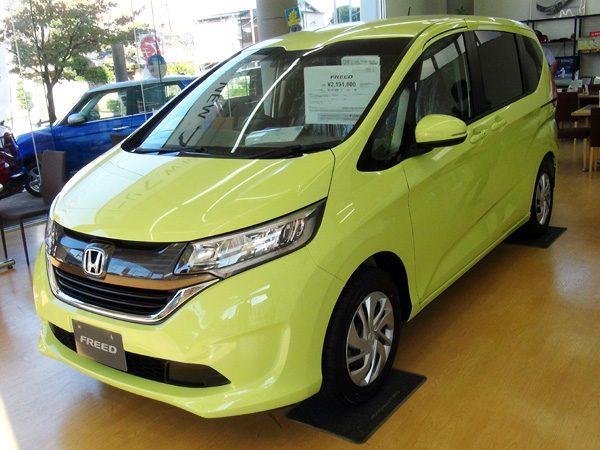 ホンダ・フリード  G Honda SENSING(ガソリン車) シトロンドロップ(黄色)