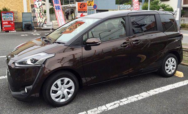 トヨタ・シエンタ G (7人乗り)