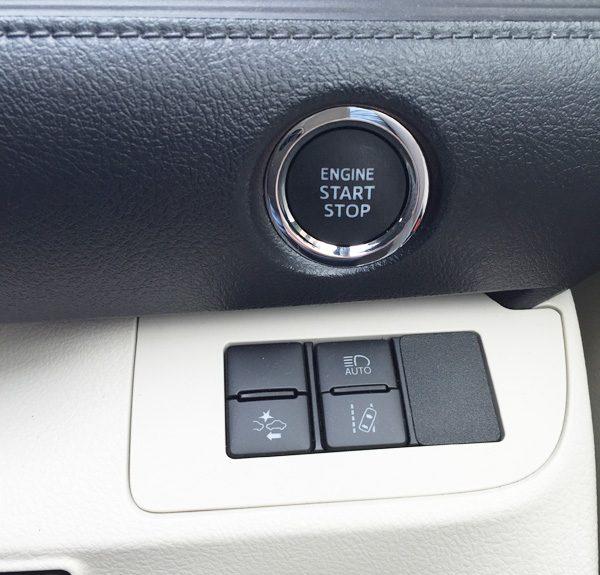 トヨタセーフティーセンスC スイッチ類