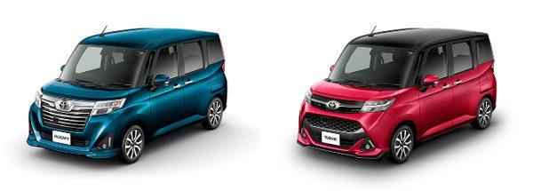 トヨタ 新型「ルーミー/タンク」(カスタム)