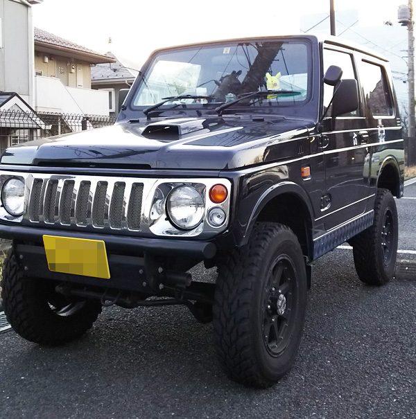スズキ・ジムニー ワイルドウインドE-JA22W