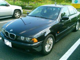 2002年式 BMW・530i 走行距離 10万7千キロ