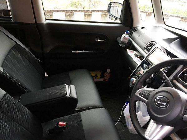 ダイハツ・タントカスタム RS トップエディション SAⅡ 前席