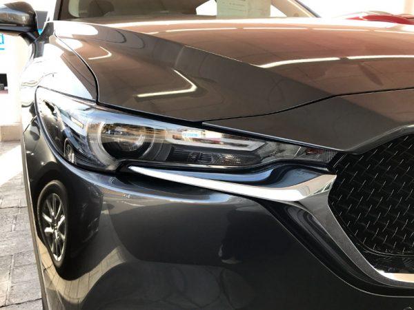 マツダ・CX-5・マシーングレープレミアムメタリック・LEDヘッドライト