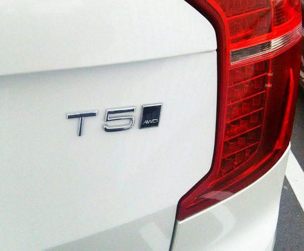 ボルボ・CX90 T5 AWD Momentum エンブレム