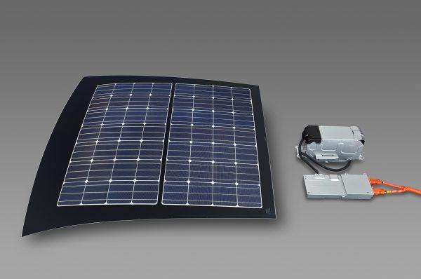 プリウスPHV・ソーラー充電システム