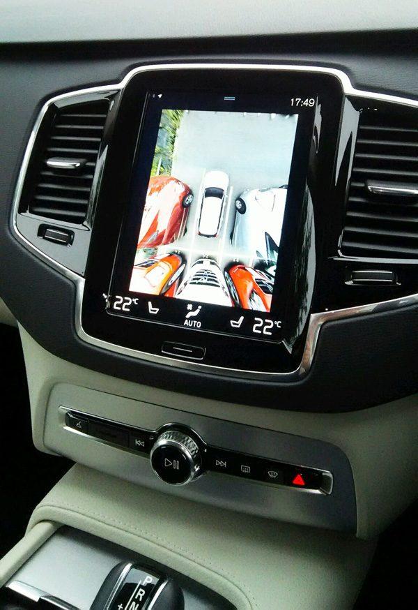 ボルボ・CX90 T5 AWD Momentum アラウンドビューモニター