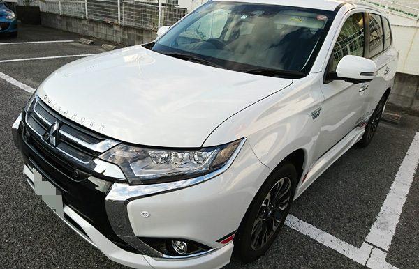 三菱・アウトランダーPHEV