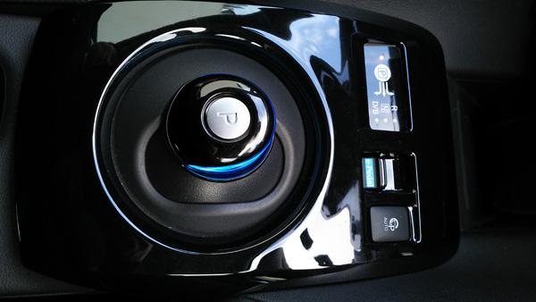 日産・リーフ e-pedalスイッチ