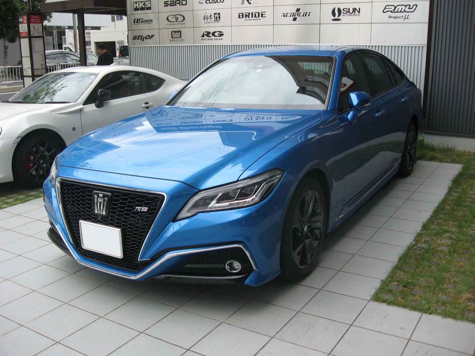 トヨタ・新型クラウン 試乗車