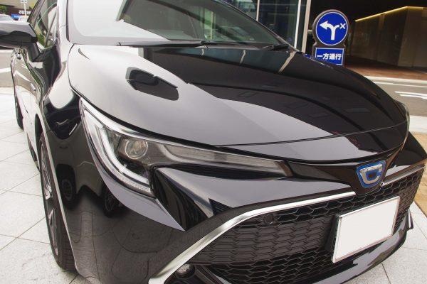 トヨタ・新型カローラスポーツ ハイブリッドGZ ヘッドランプ