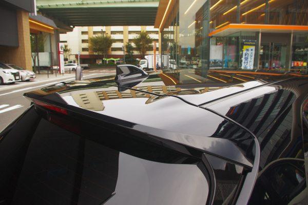 トヨタ・新型カローラスポーツ ハイブリッドGZ リアスポイラー