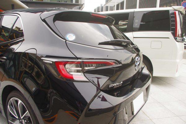 トヨタ・新型カローラスポーツ ハイブリッドGZ テールランプ