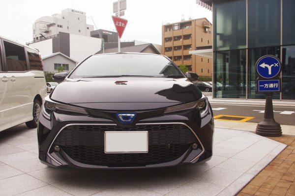 トヨタ・新型カローラスポーツ ハイブリッドGZ フロント
